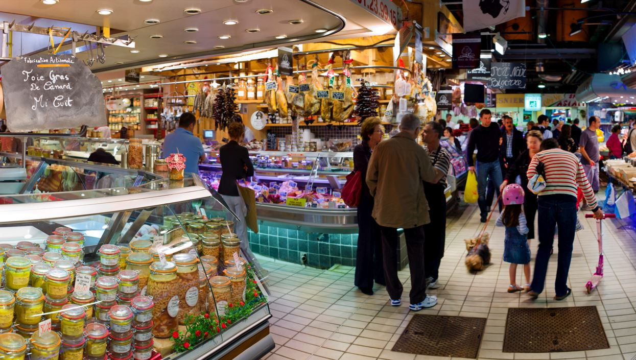 Toulouse city and market tour
