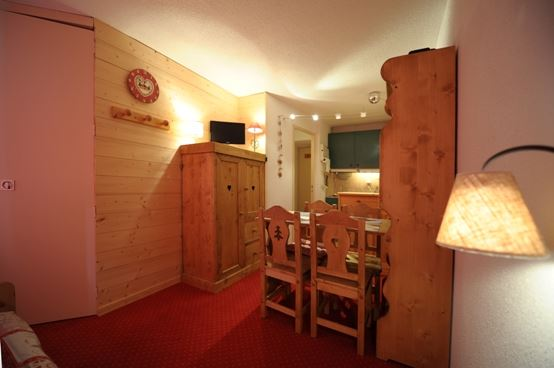 Studio + cabin 4 Pers ski-in ski-out / BOEDETTE D 820