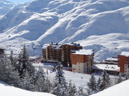 2 Rooms 5 Pers ski-in ski-out / CARLINES II B 18
