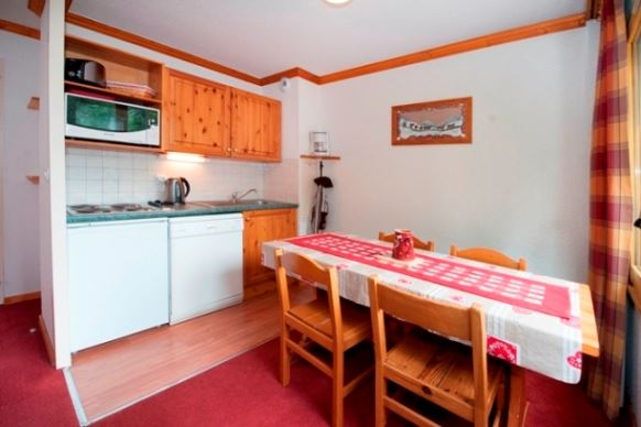2 Rooms 4 Pers ski-in ski-out / GENTIANES 206