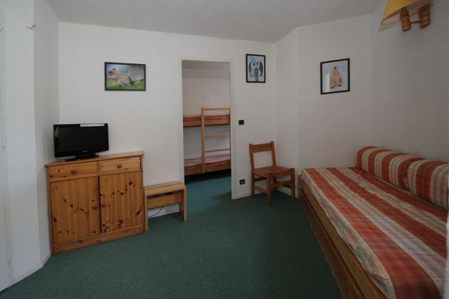 2 Rooms 4 Pers ski-in ski-out / GENTIANES 406