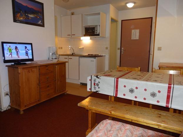 Studio cabine 4 Pers skis aux pieds / OREE DES PISTES 50