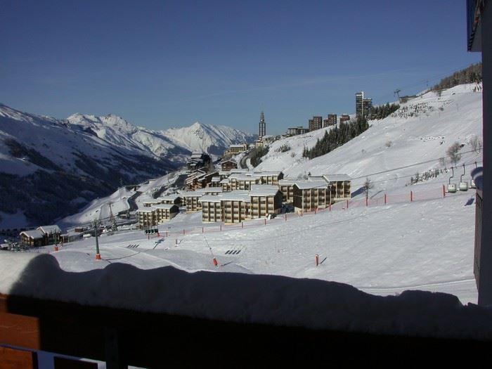 Studio 4 Pers skis aux pieds / SKI SOLEIL I 1101
