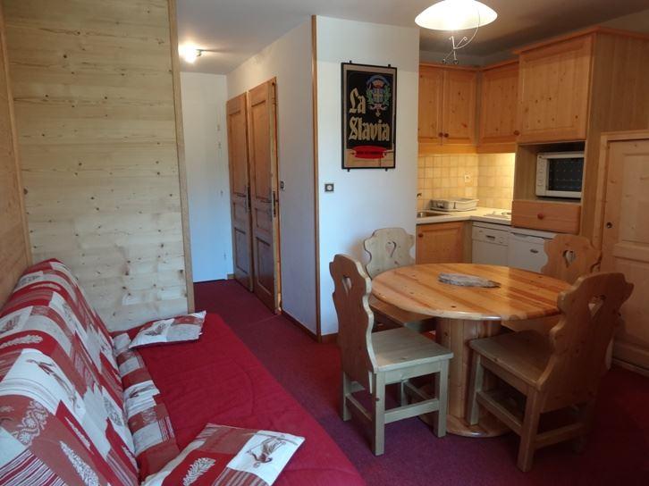 2 Rooms 4 Pers ski-in ski-out / SKI SOLEIL 2608