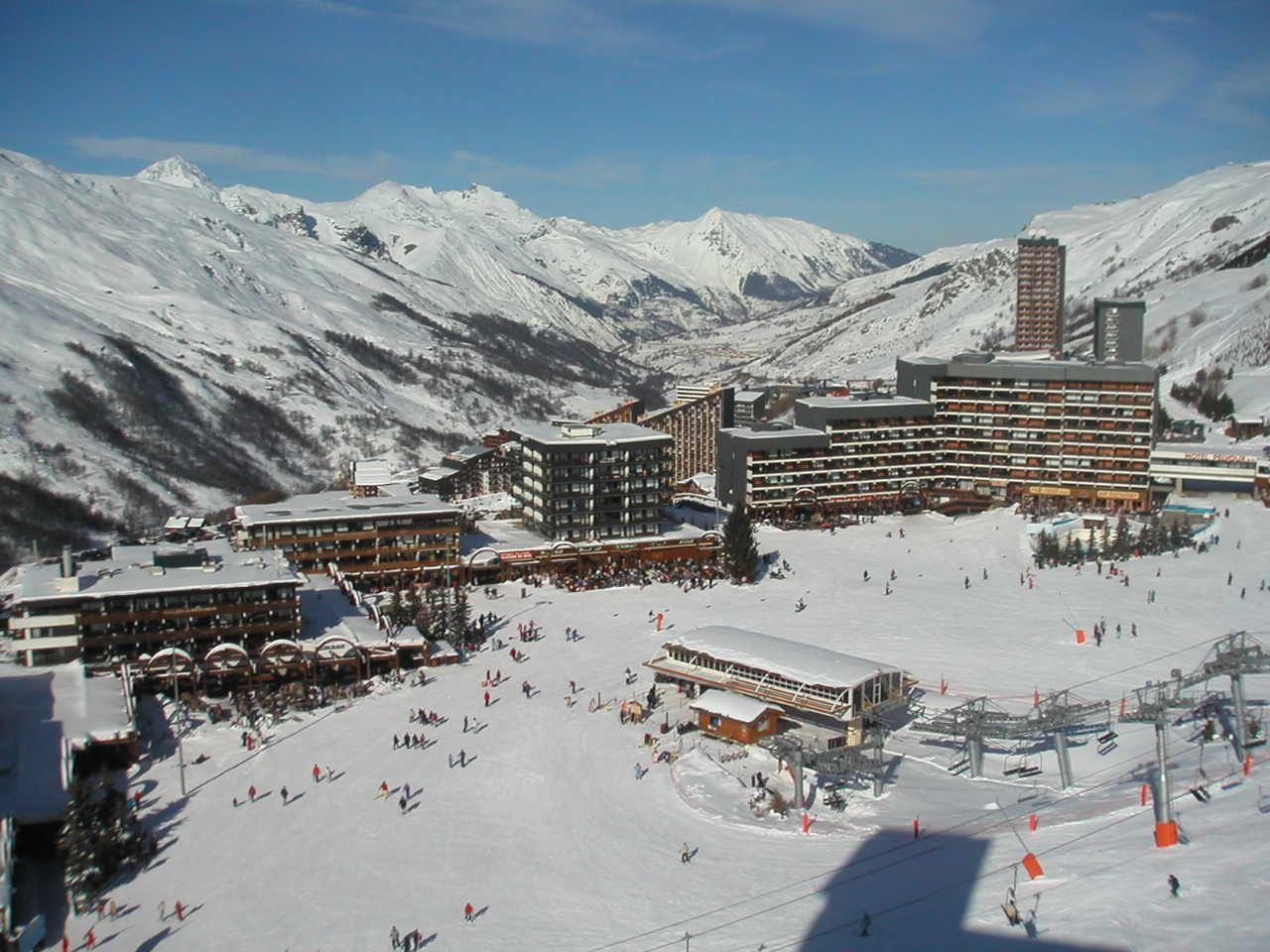 Studio 2 Pers skis aux pieds / DORONS 506