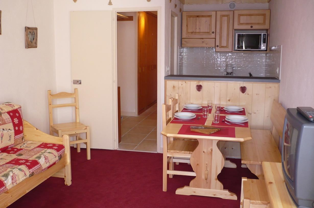 2 Rooms 5 Pers ski-in ski-out / CHAVIERE 225