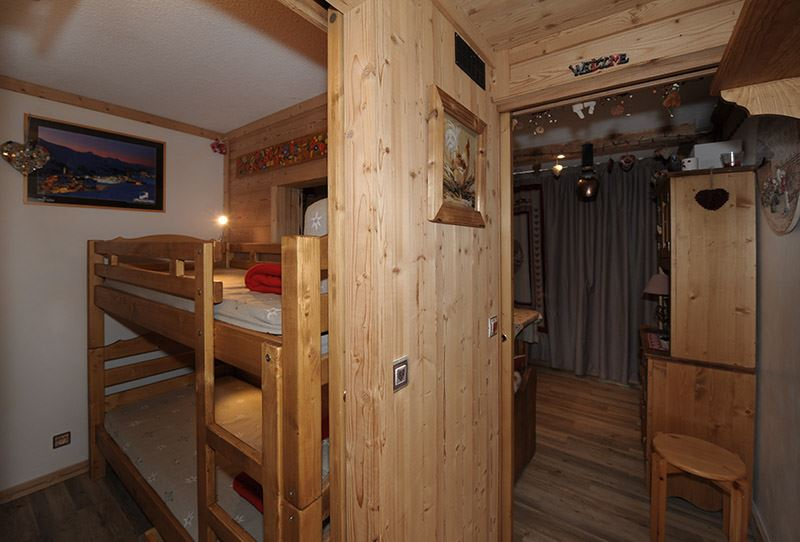 Studio 4 Pers skis aux pieds / CHAVIERE 620