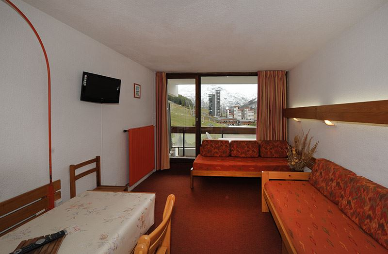 2 Rooms 5 Pers ski-in ski-out / CHAVIERE 621