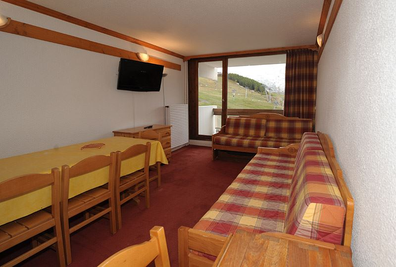3 Rooms 8 Pers ski-in ski-out / CHAVIERE 625