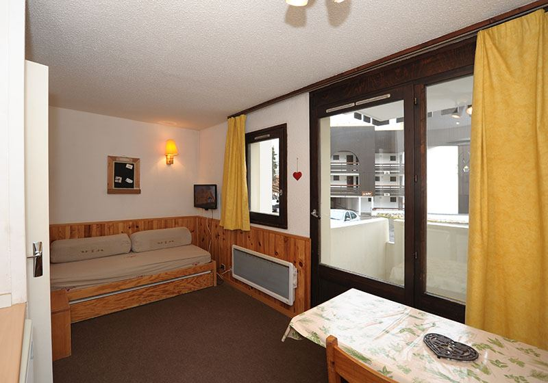 4 Pers Studio cabin ski-in ski-out / GENTIANES 13