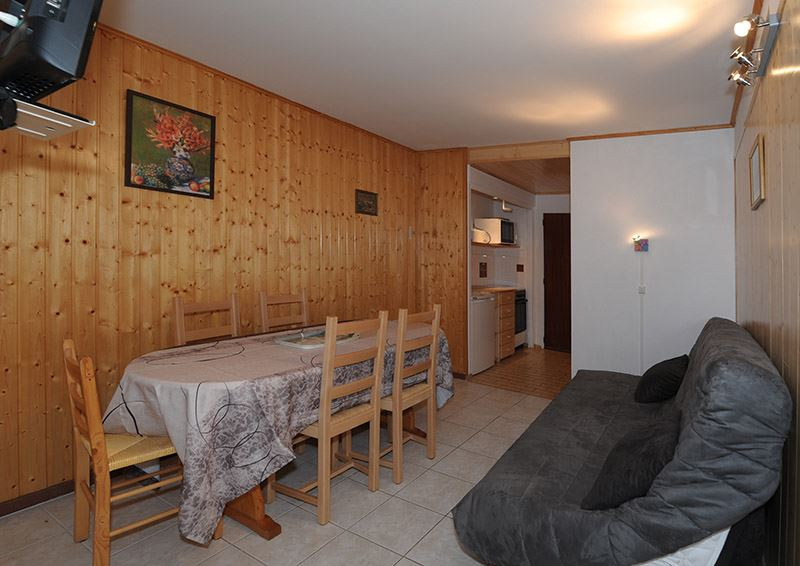 2 Rooms 5 Pers ski-in ski-out / LES LAUZES 1