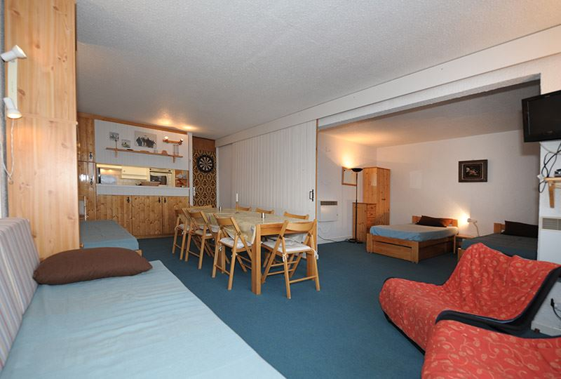 3 Rooms 8 Pers ski-in ski-out / PRA COUTIN 41