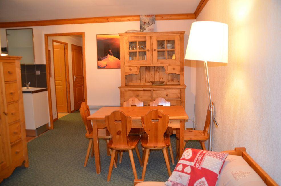 2 Pièces cabine 4/6 Pers skis aux pieds / VALMONT 107