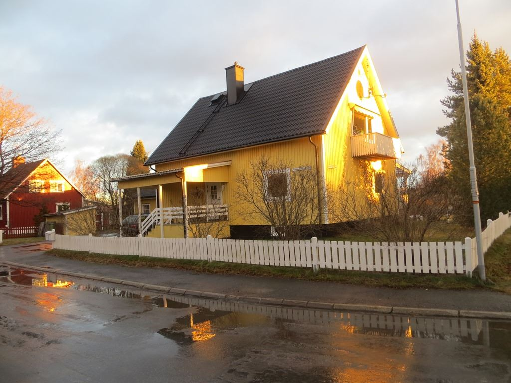 House on Grubbe in Umeå