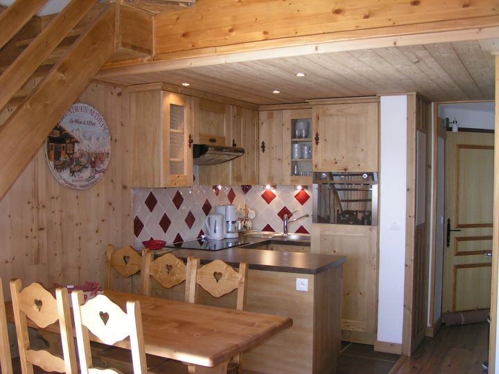 4 Rooms 4/6 Pers ski-in ski-out / BOSSON 404