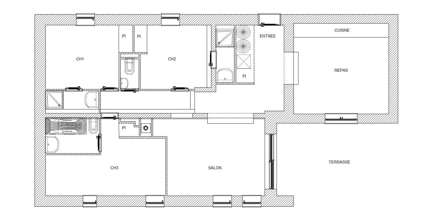 5 Rooms 6/8 Pers / JARDINS DE LENA 1
