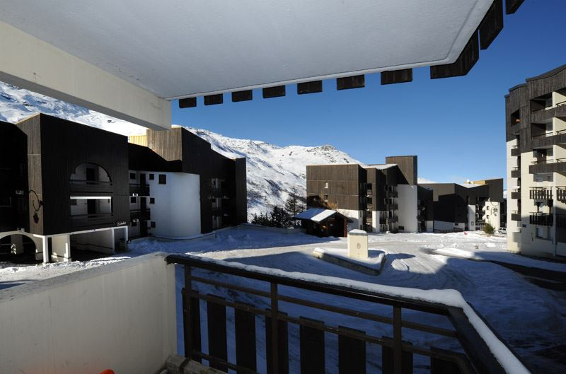Studio 4 Pers skis aux pieds / GENTIANES 123