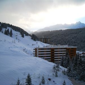 1 studio 4/5 personnes skis aux pieds / RESIDENCE 1650 28 (Montagne de Charme)