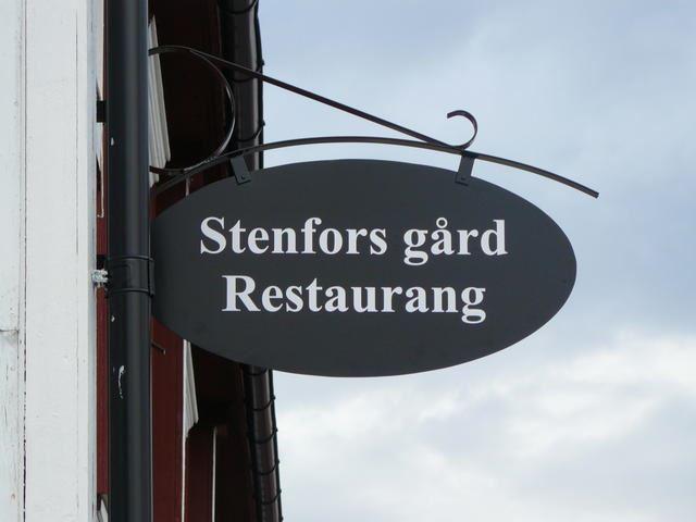 Das Restaurant Stenfors Gård