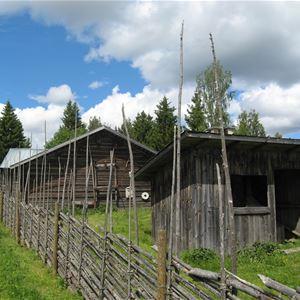 Norrigården gådavallen Bo på fäbodvall Ljusdal Ramsjö