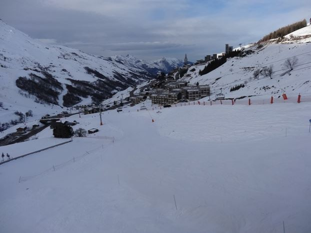 2 Rooms 4 Pers ski-in ski-out / SKI SOLEIL II 2506