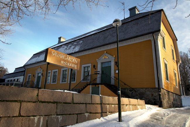Leif Milling, Restaurang Sävargården