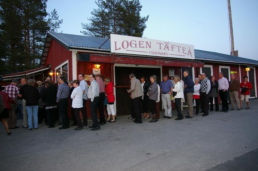 Dance at Täfteå Loge