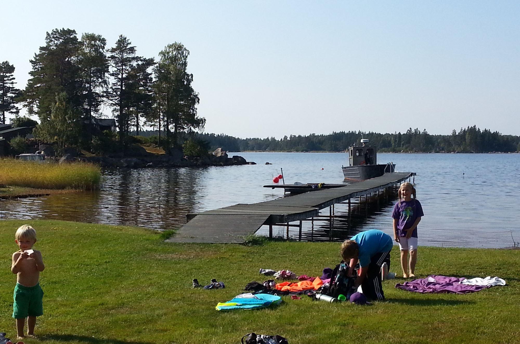 Båttur i Söderhamns skärgård