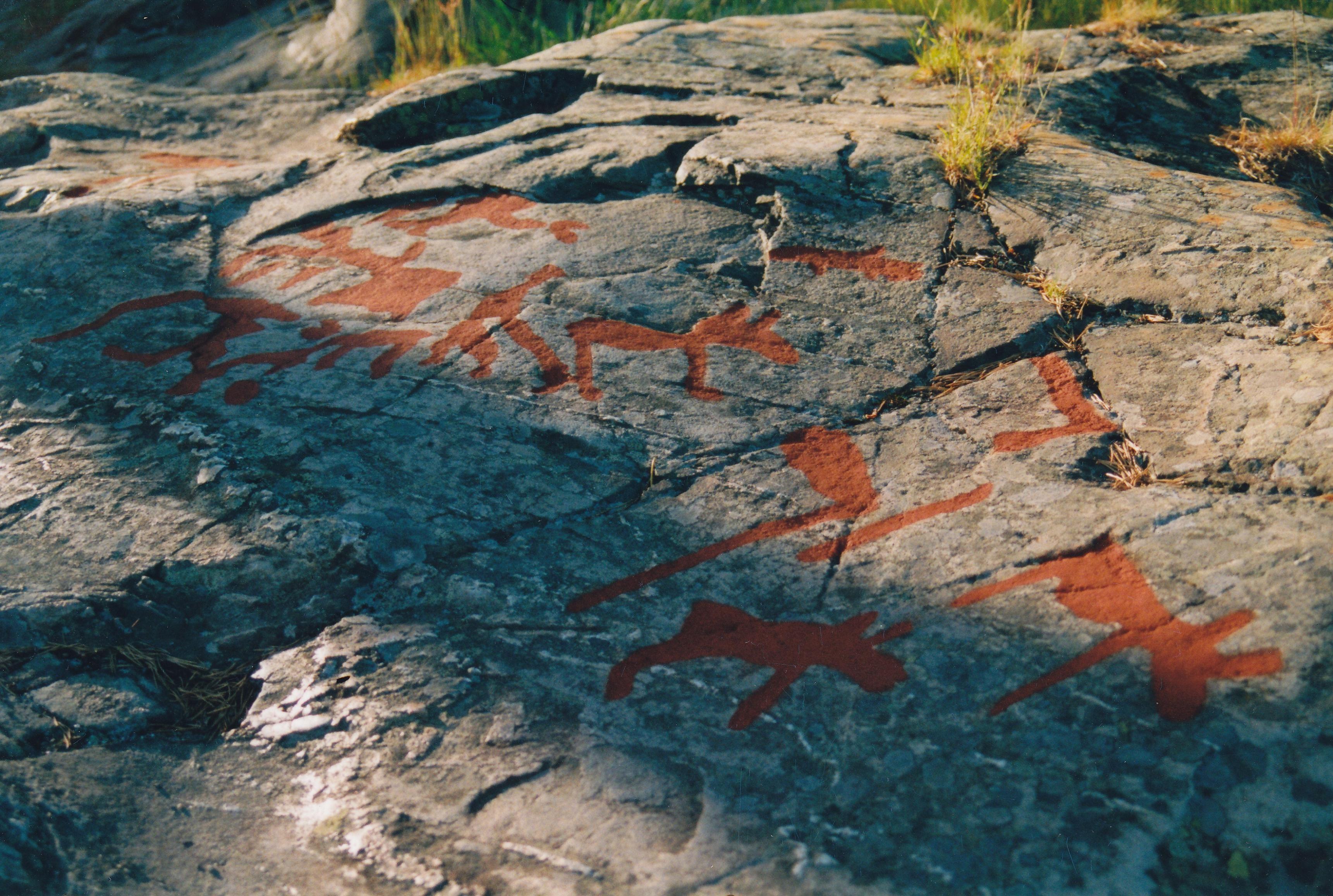 Petroglyphs at Nämforsen
