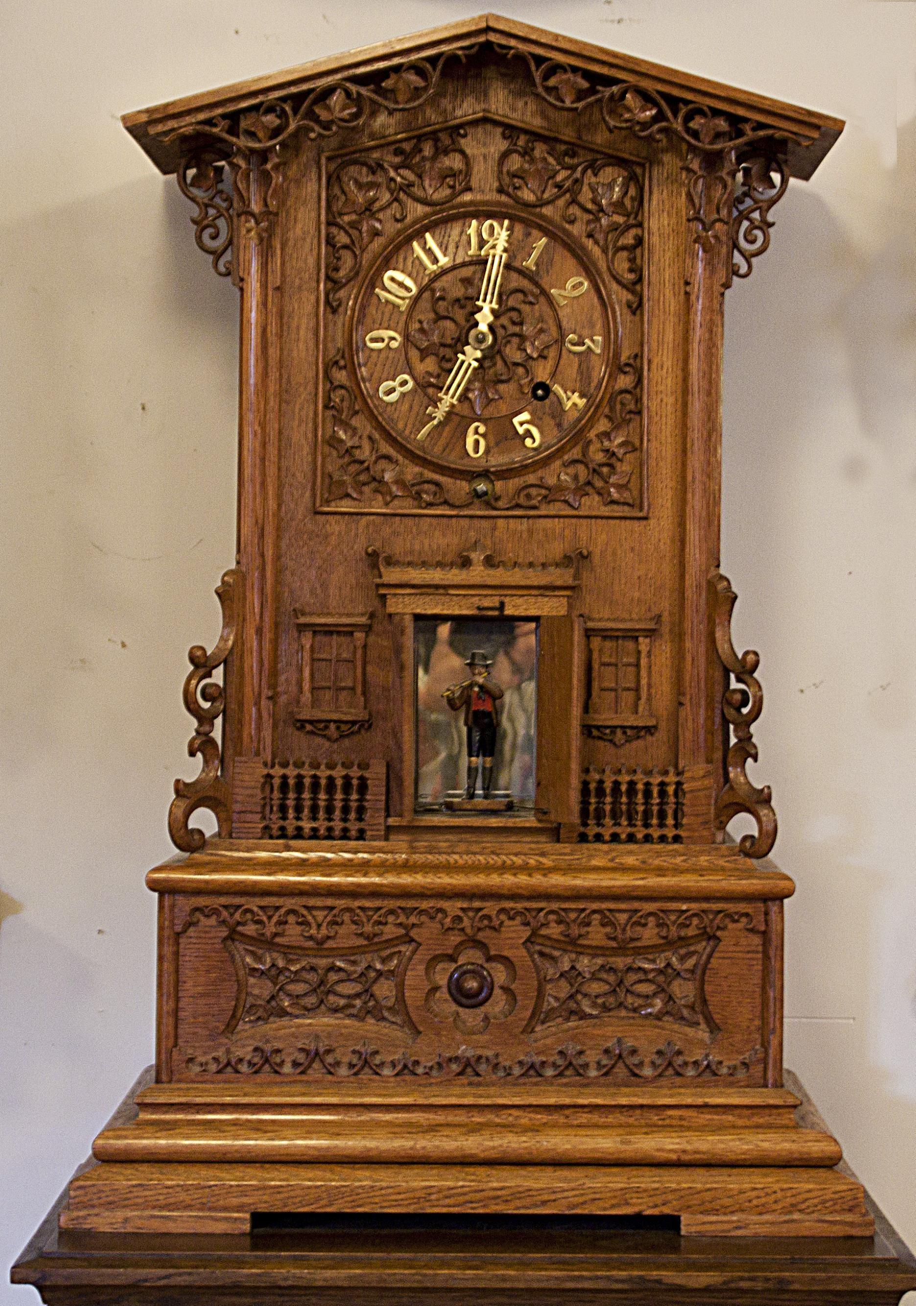 Stefan Sundkvist, Klockhuset i Skadom - tidens rum