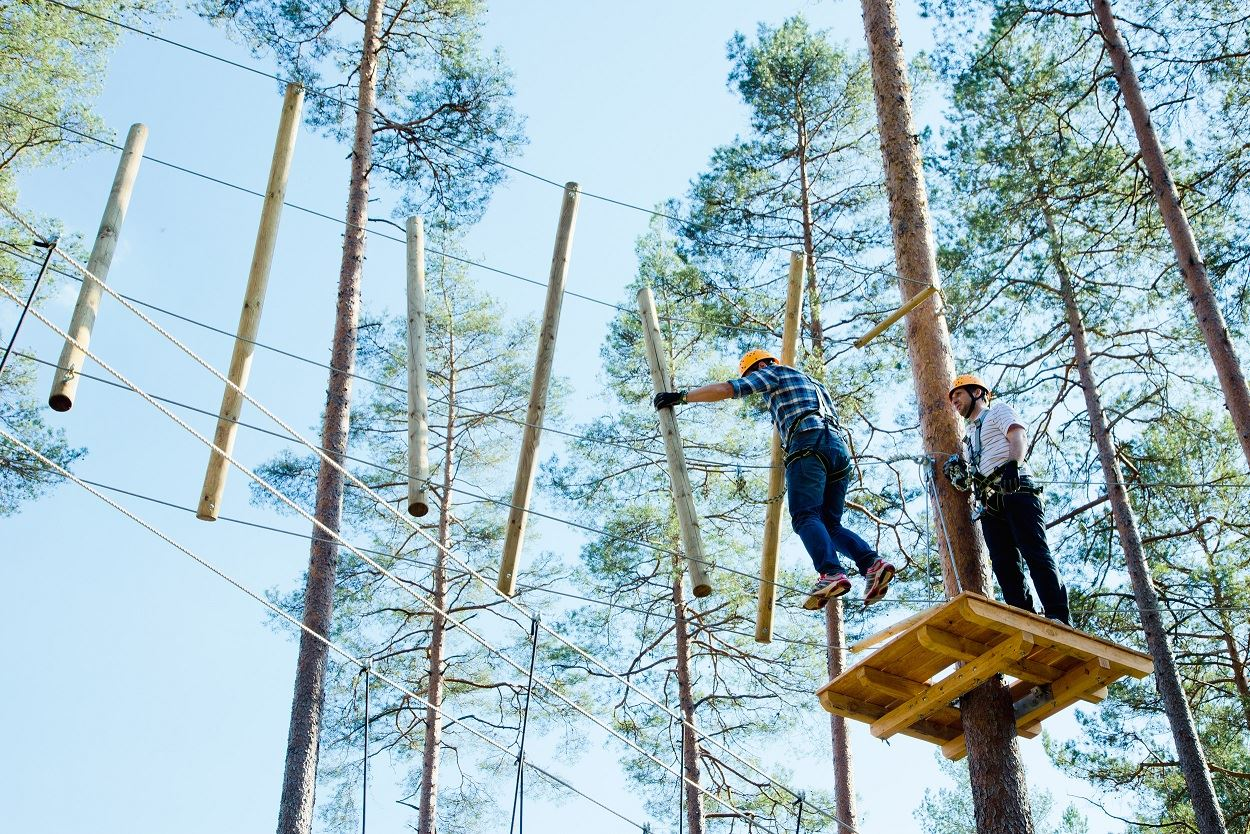 Isaberg tree top adventure