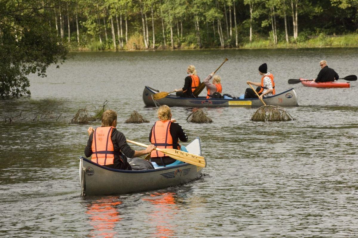 Canoe trail Nissan