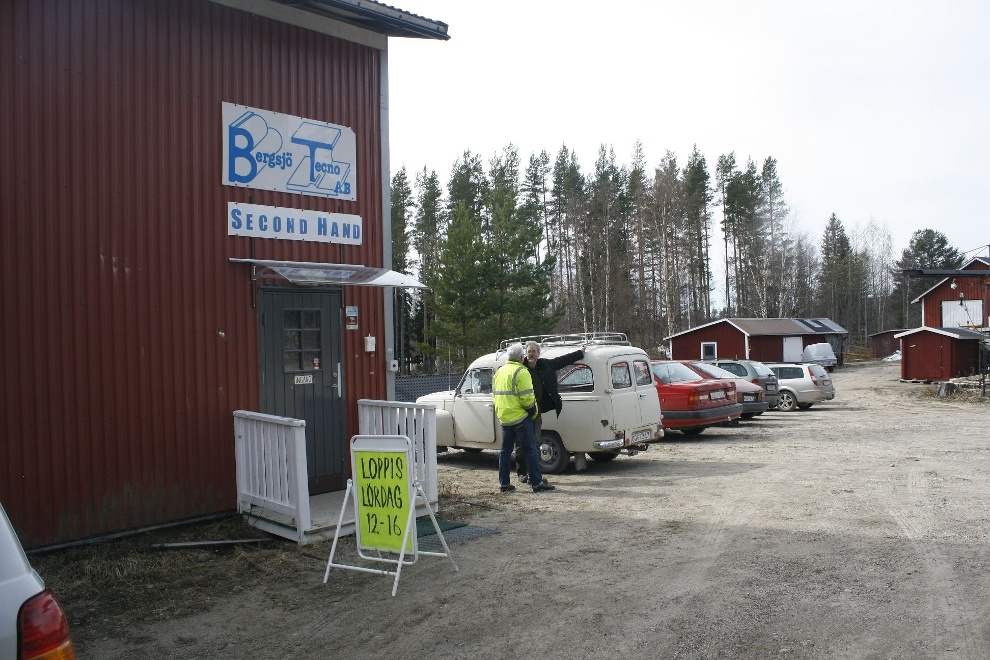 Bergsjö Tecno - Second Hand & Loppis