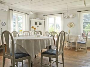 En av salarna där vi serverar våra måltider med plats för 25 gäster