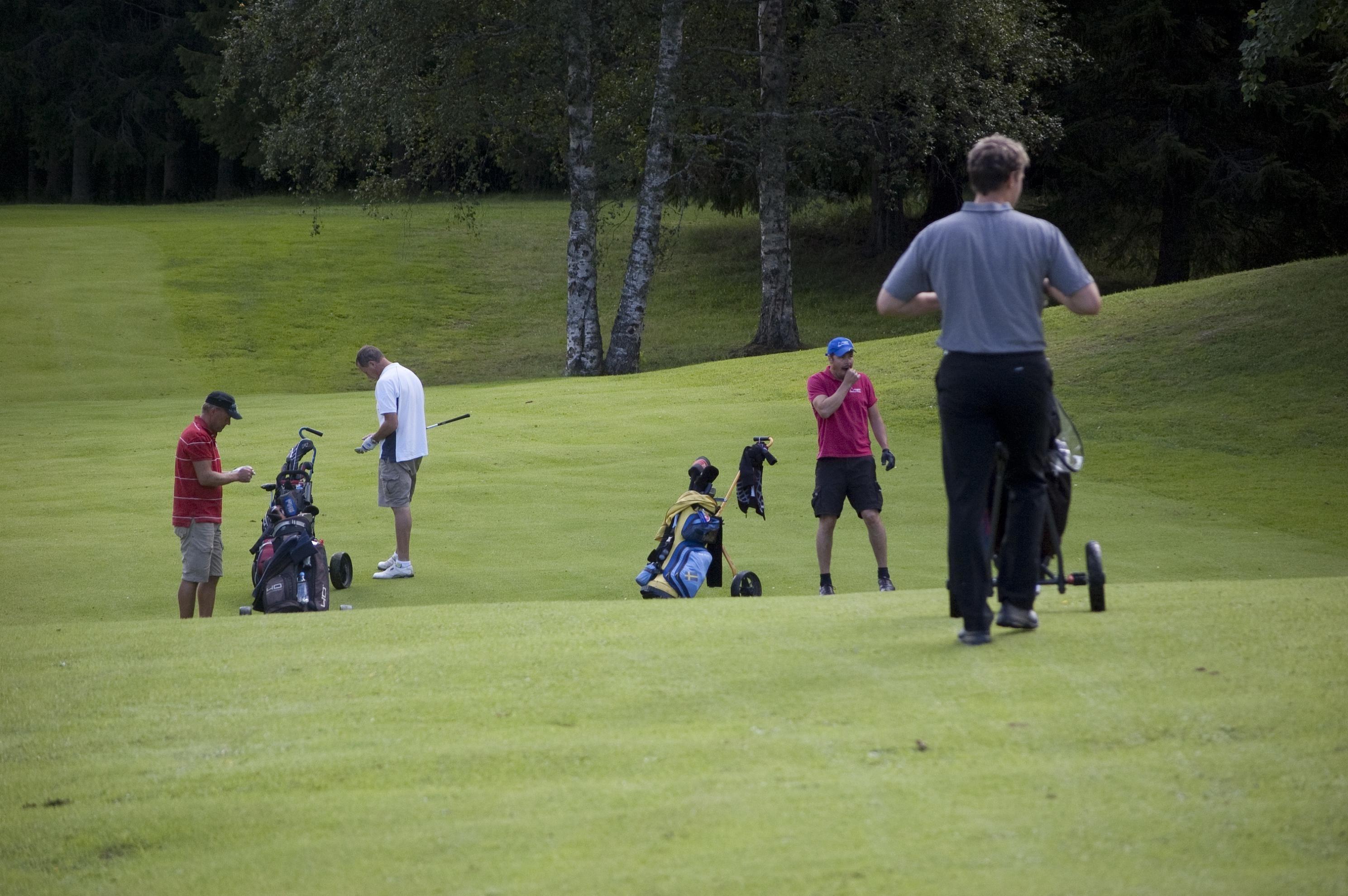 Foto: Lennart Angermund, Sollefteå Golfbana i Österforse