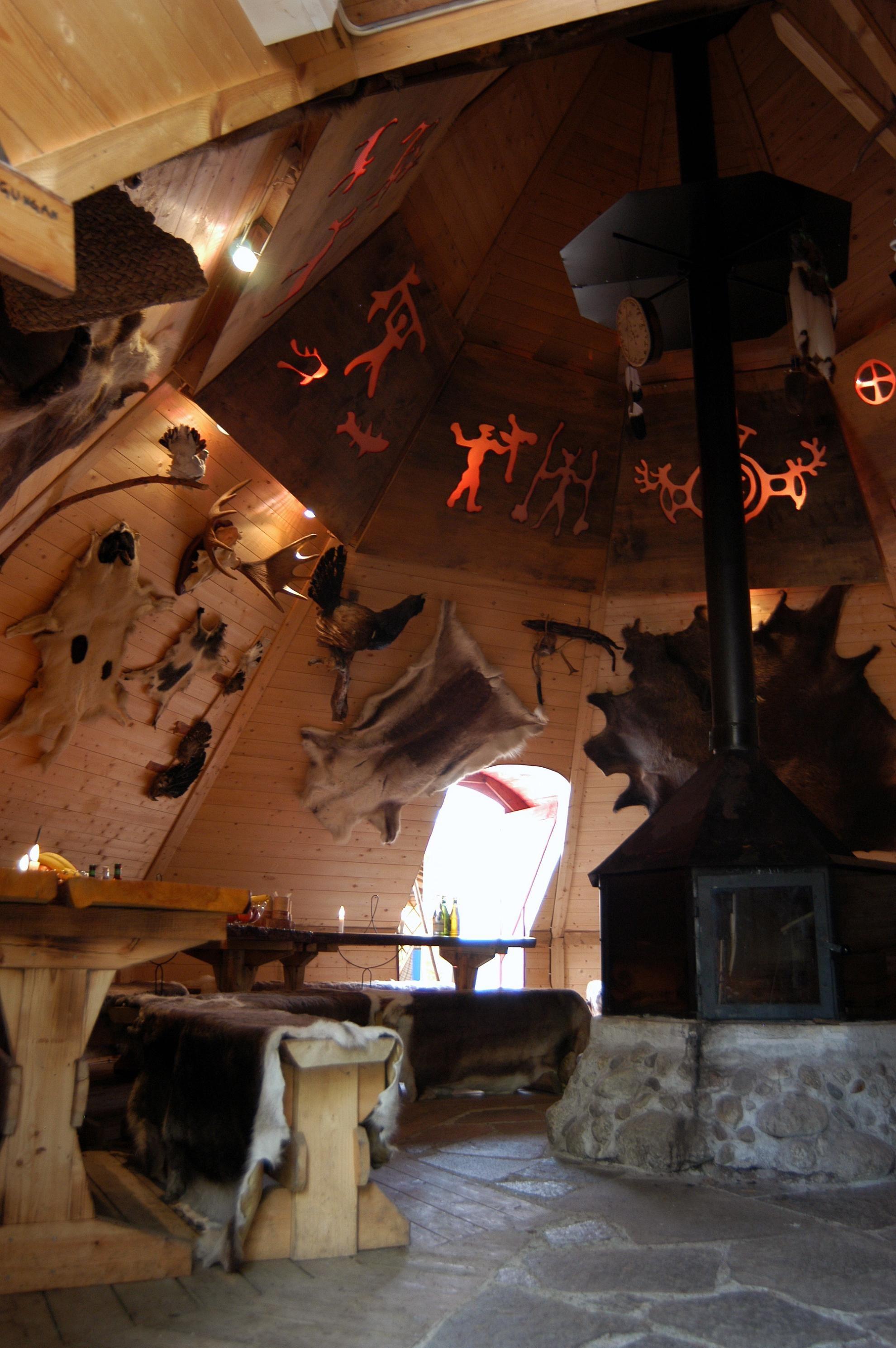 Stay in a hut in Junsele