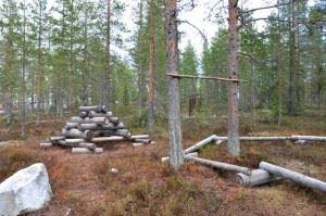Föreningen Klangvägen,  © Föreningen Klangvägen, Lekstig vid Klangvägen