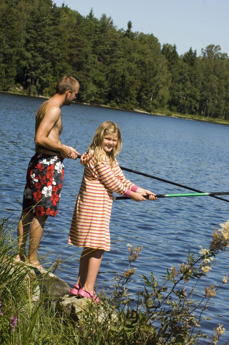 Fishing area Majsjön