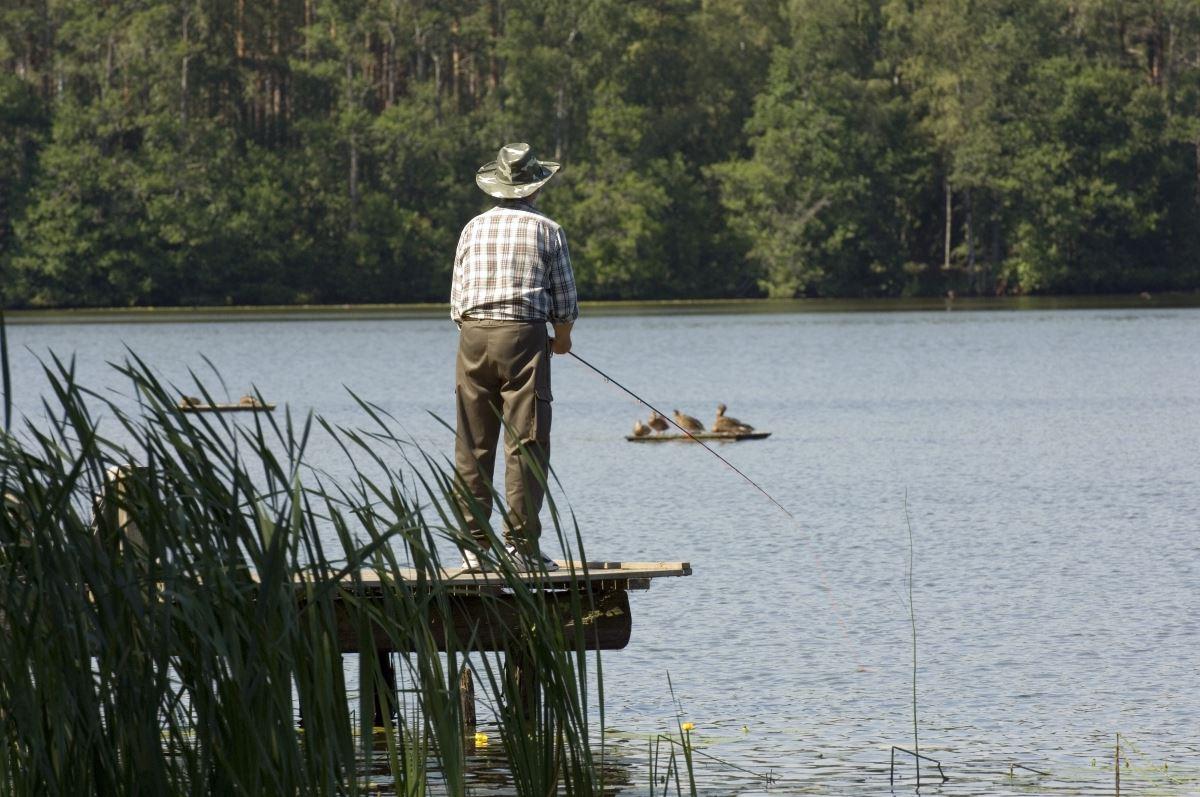 Fishing area Hallasjön
