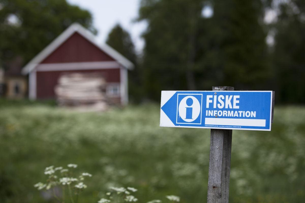 Fishing area Nissansjöarna