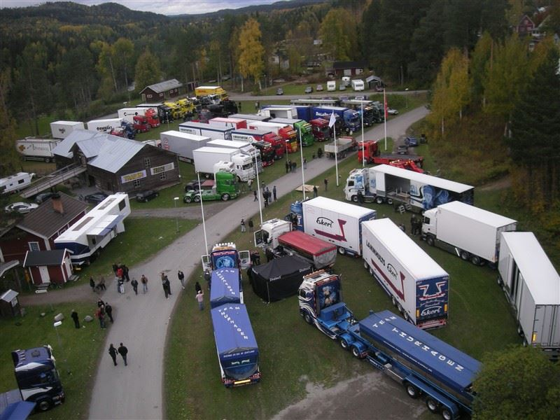 Lastbilsträffen i Ramsele 2018
