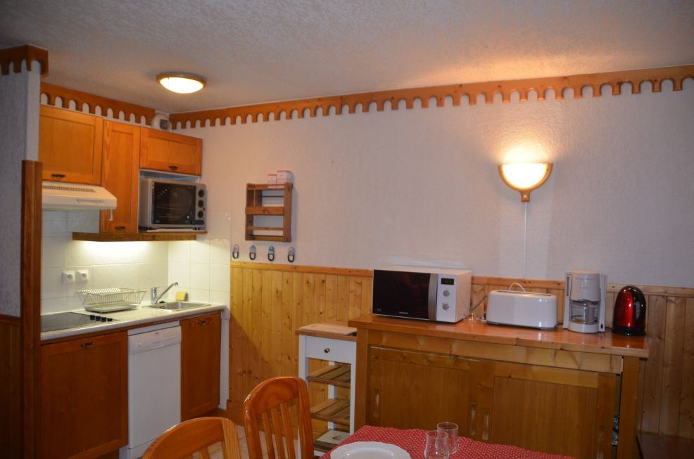 3 Rooms 6 Pers ski-in ski-out / BOSSON 101