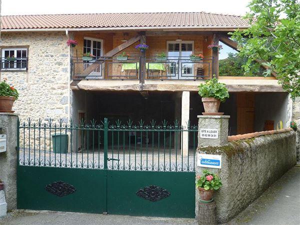© CV65, HPM108 - Grande maison de campagne en Barousse