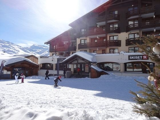Studio 4 pers ski-in ski-out / OREE DES PISTES 4