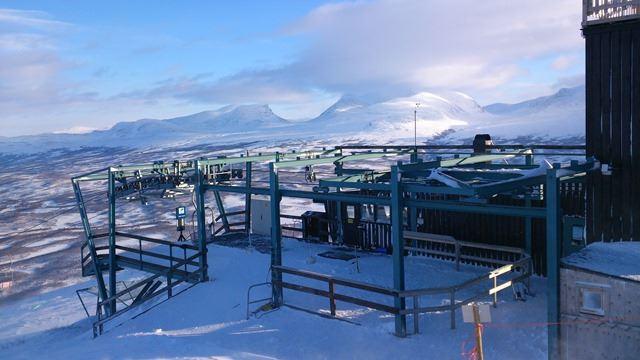 Abisko - Linbanebiljett till Nuolja Vinter