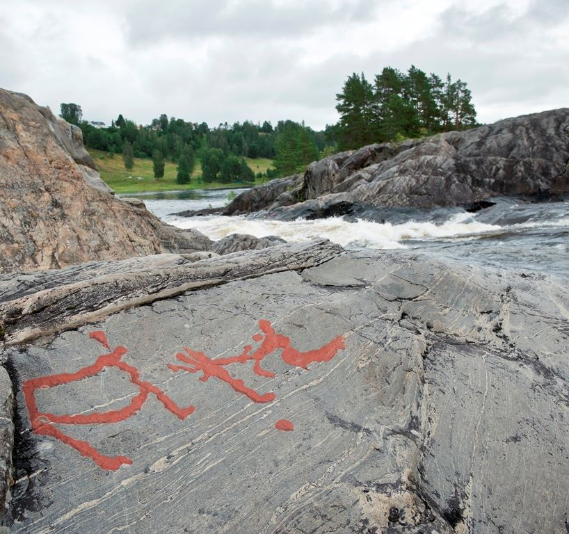 Rock art in Sapmi
