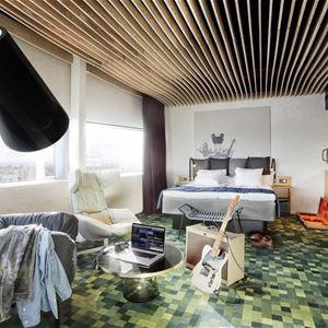 Nytt hotell i Umeå. Inrymt i nytt kulturhus