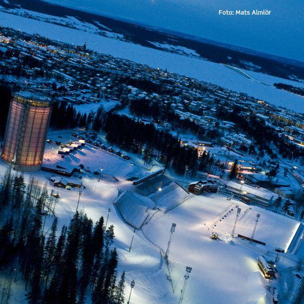 Foto: Mats Almlöf,  © Copy: Östersunds Kommun, Östersunds Skidstadion