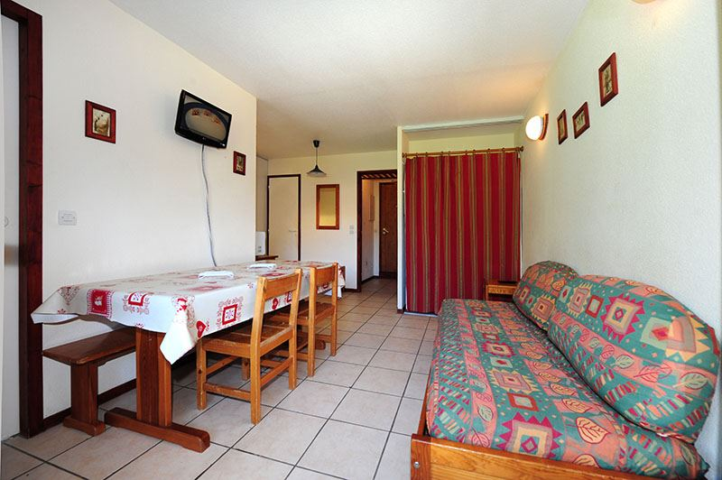 2 Rooms + cabin 6 Pers ski-in ski-out / BALCONS D'OLYMPIE 50