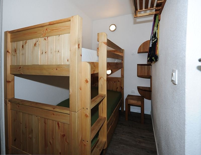4 Pers Studio + cabin ski-in ski-out / NECOU 620